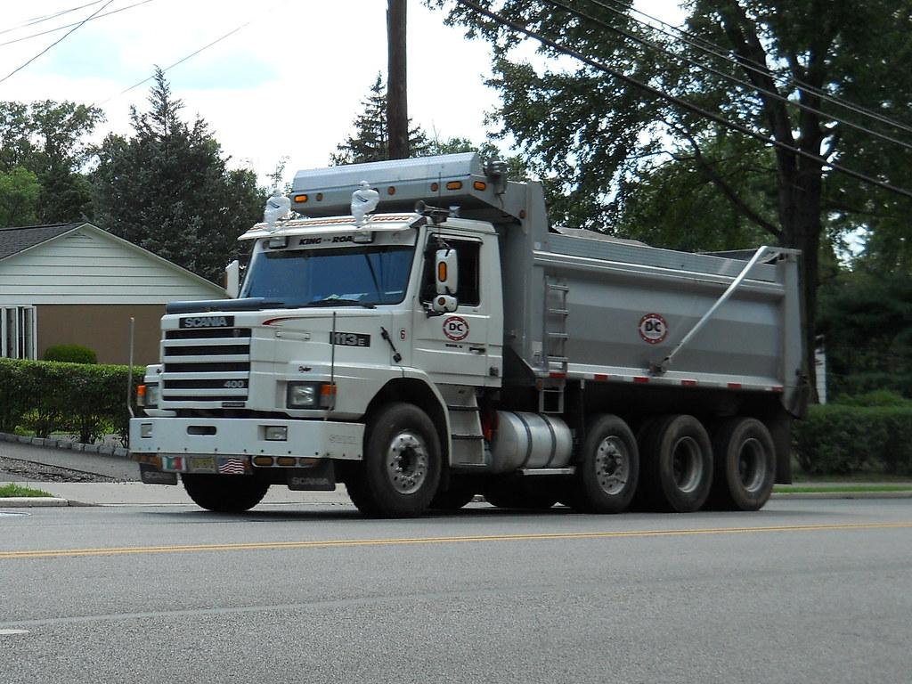 Scania 113E 400 Tri Axle Dump Truck