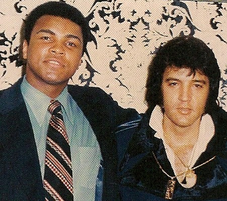 Elvis And Muhammad Ali In 1973 Up Close And Personal