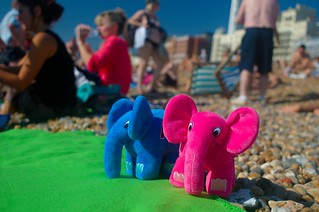 Elephpants at Brighton Beach | by derickrethans