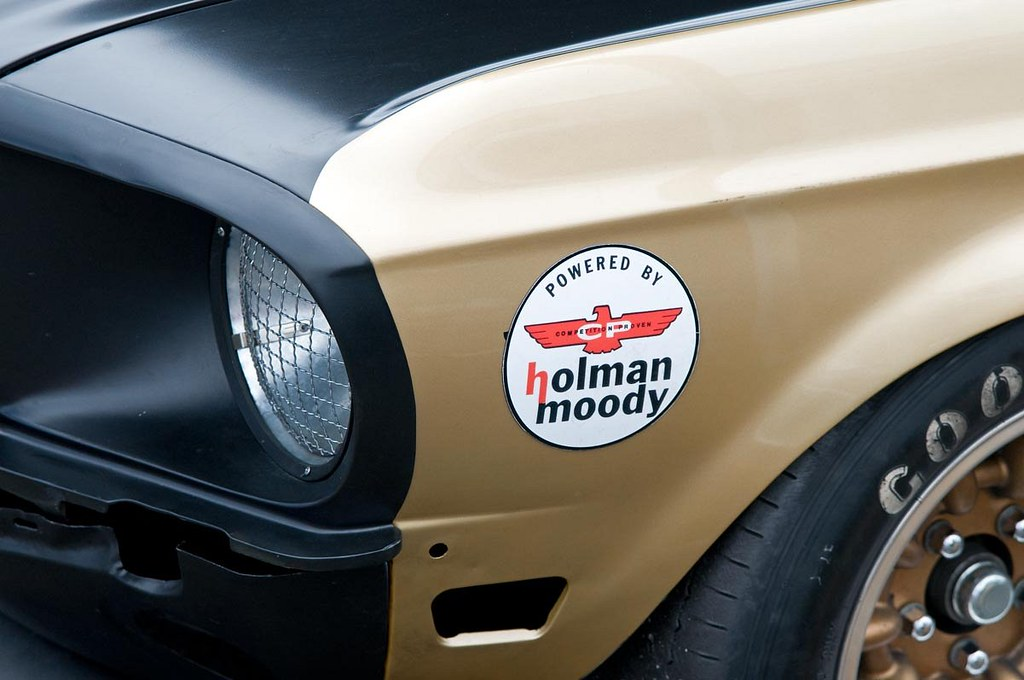 Holman Moody Mustang Portland Or Historic Races 2011