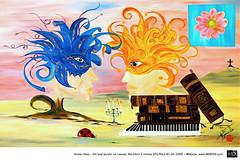 HD Art Painting Surrealismy I & II - NAME.006