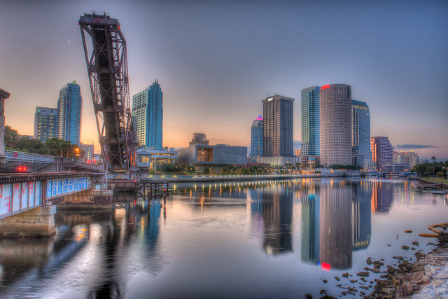 Cass street bridge and downtown tampa flickr photo for Best places to live in tampa
