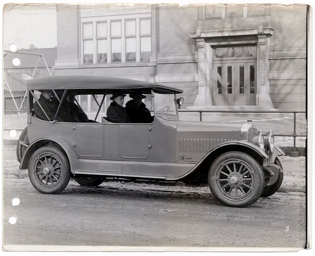 1917 Doble steam car, seven passenger, Old Antelope first … | Flickr