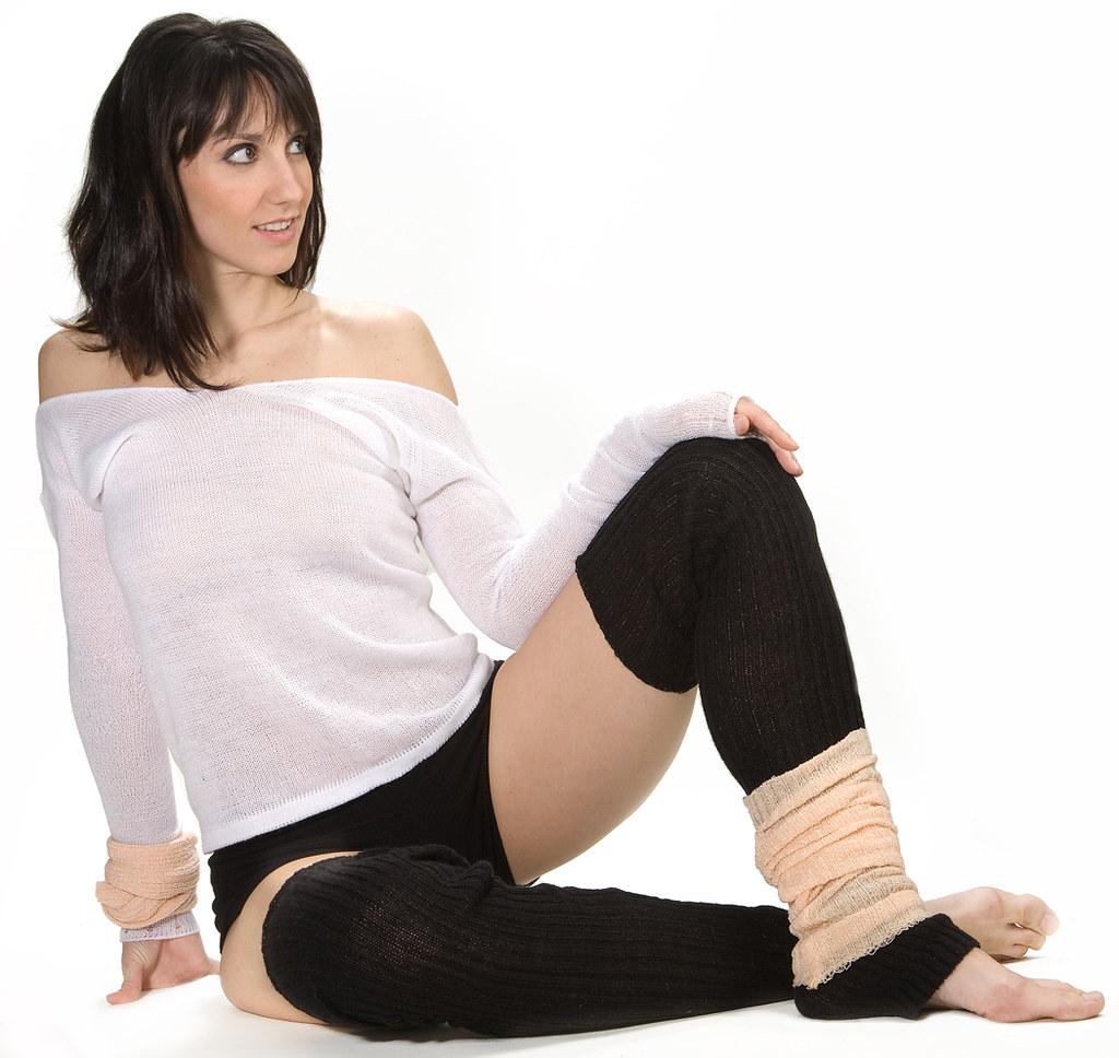 Tameka Barribeau Web: Oatmeal Sexy Ballet Neck Top & Hot