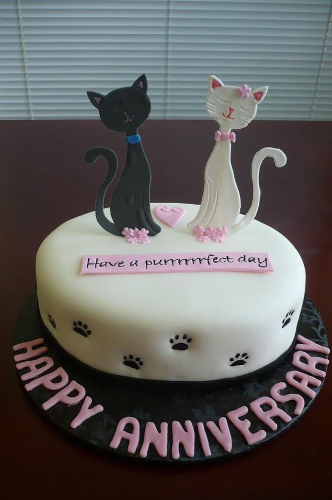 Cat Food Birthday Cake