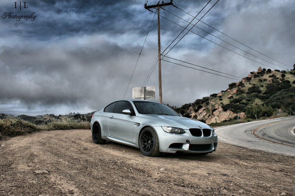 E92 M3 Satin Black Apex Arc 8 By I L Photography