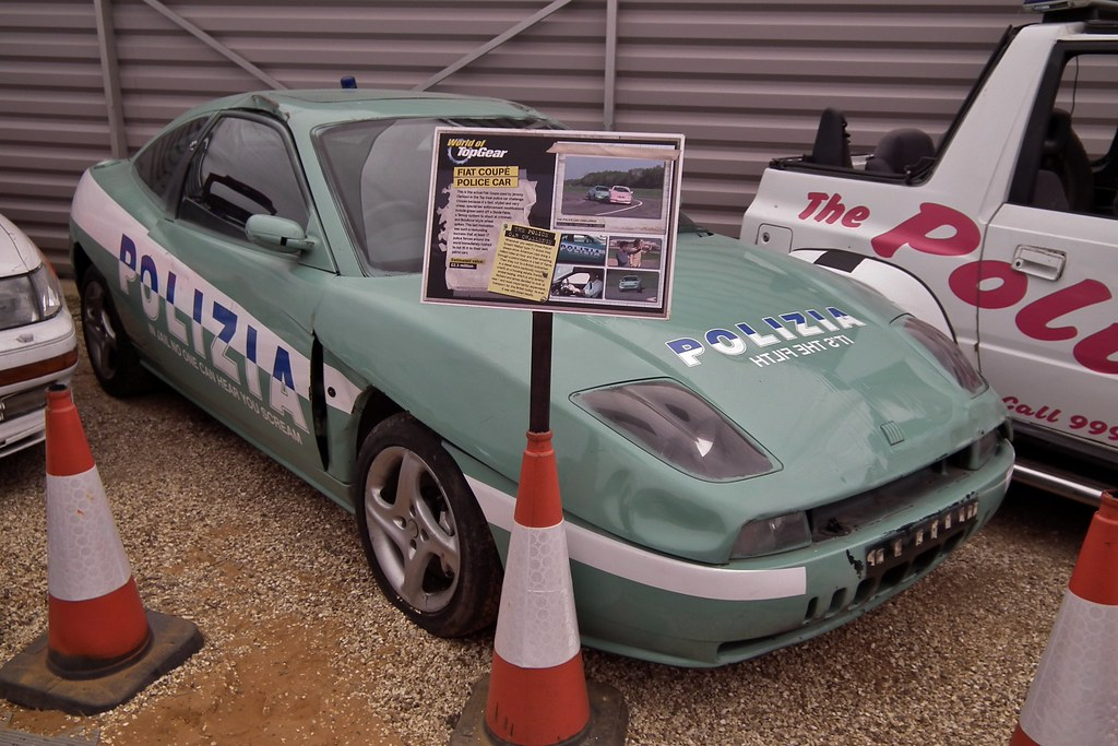 1998 Fiat Coupe 20v Police Car Top Gear 1998 Fiat