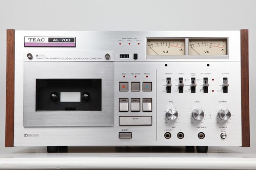 Teac AL-700 Elcaset Deck Front (1976) | by picturesofthingsilike