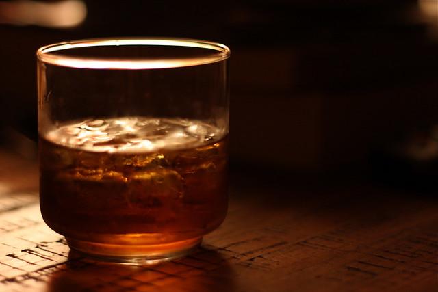 Vaso de Whiskey