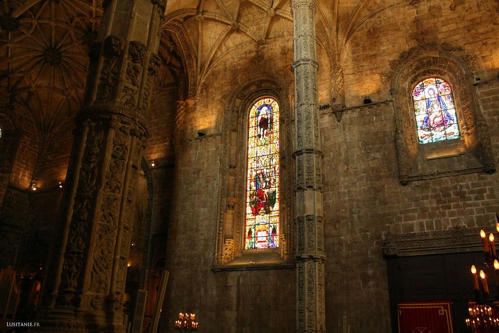 Vitraux du monastère des Hiéronymites