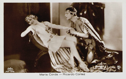 Maria Cord and Ricardo Cortez in The Private Life of Helen of Troy (1927)