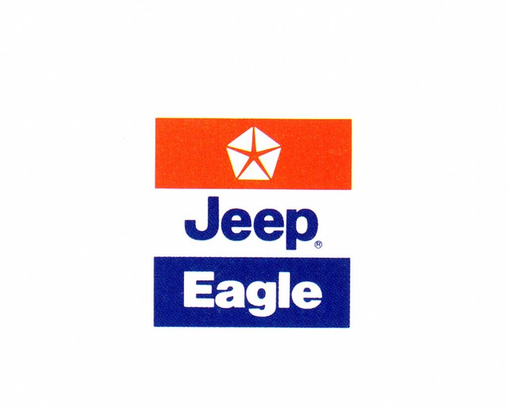 1988 chrysler jeep eagle logo leeekstrom flickr