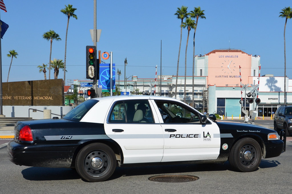 Los angeles port police department navymailman flickr for La port police