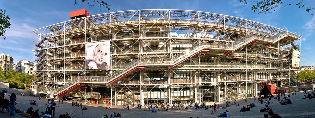 Centre national d art et de culture georges pompidou bea for Art minimal centre pompidou