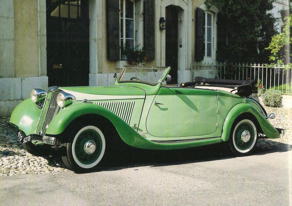 1935 - 1937 Amilcar Pe...