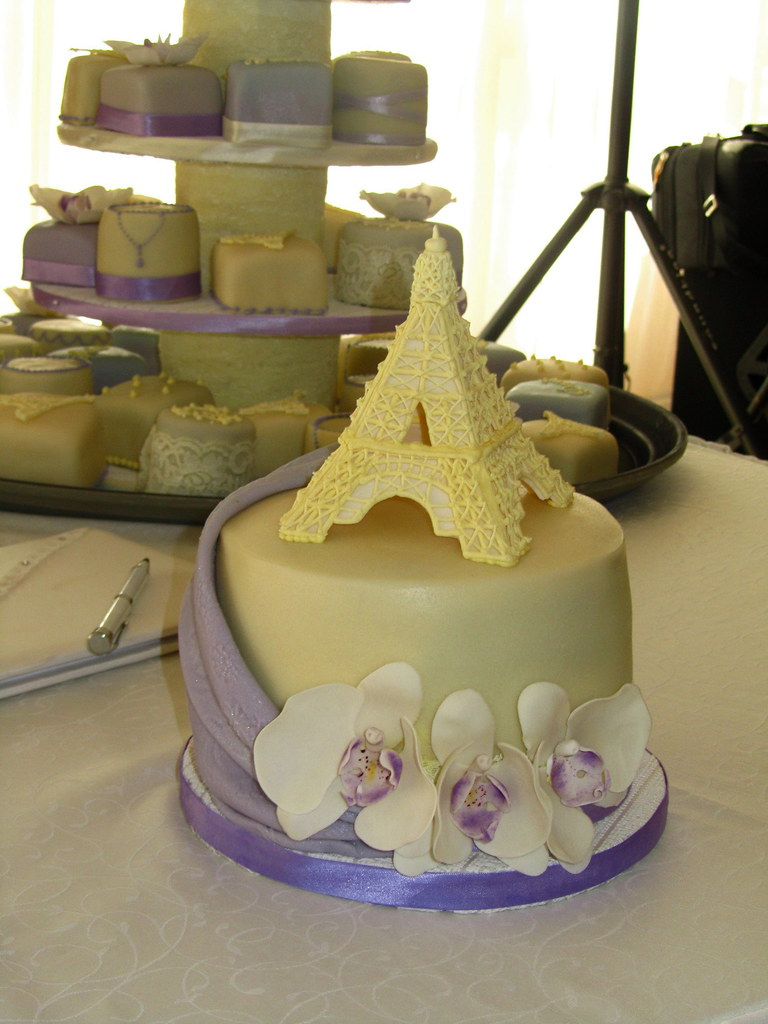 We love Paris wedding cake | Anna | Flickr