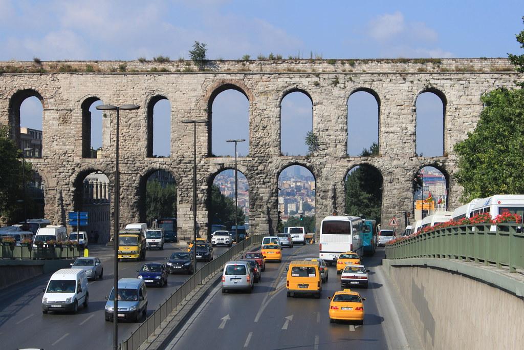 Istanbul: Valens Aqueduct  The Valens Aqueduct was a key ...