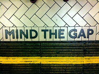 Mind the gap | by renaissancechambara