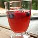 Sangria in White Wine Glass