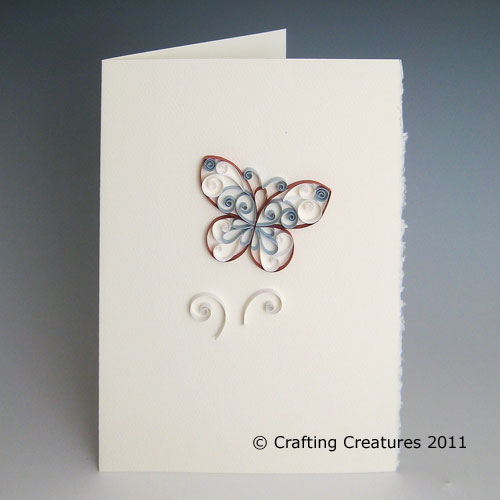 Quilled butterfly greeting card strathmore blank cards are flickr quilled butterfly greeting card by paper zen cecelia louie m4hsunfo