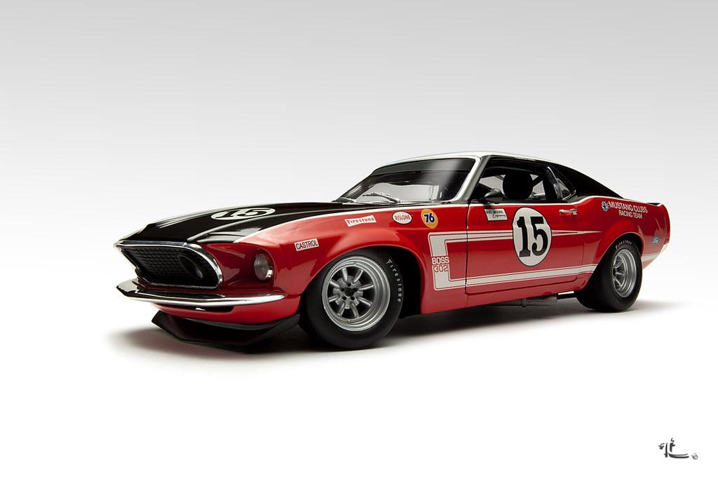 Ford Mustang Boss Trans-Am race car 1969   Tjeu   Flickr