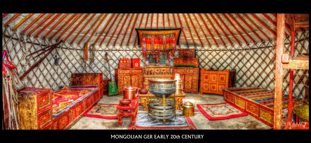 """mongol ger Ger is the word for """"yurt"""" (circular tent) in mongolia we liked the symbolism in mongolian culture that surrounds the ger """"the ger, known to a lot of westerners as the yurt, is the traditional dwelling of the mongols."""