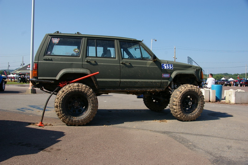 Jeep Cherokee Xj Yes The Hi Lift Jack Is Bent Flickr