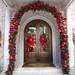 Frontdoor Christmas Styling