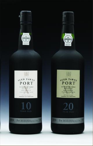 mamps port bottles of port label design by www