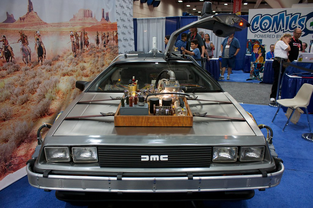 Back To the Future Part III DeLorean | Ewen Roberts