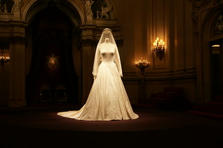 The Duchess of Cambridge's wedding dress | by The British Monarchy