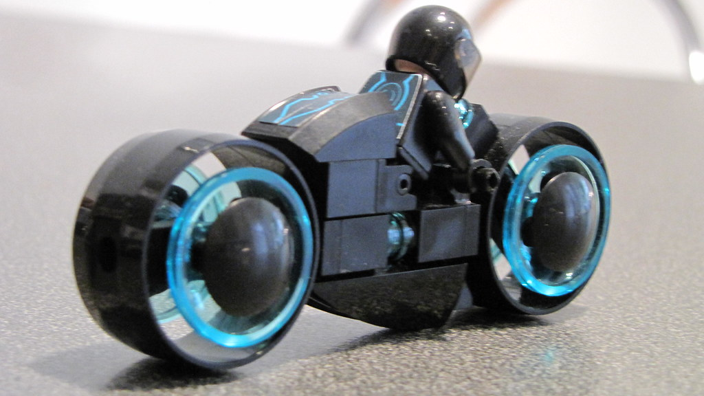 Lego Custom Tron Legacy Lightcycle This Is My Lightcycle