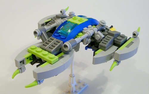 Alien Conquest Fighter 3/4 view | by floodllama