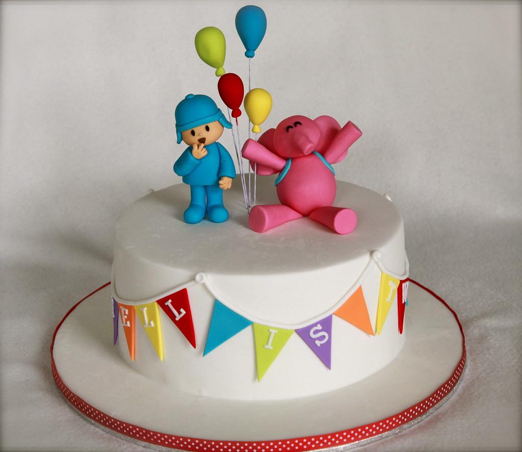 Markell S Pocoyo Cake Minerva Reyes Flickr