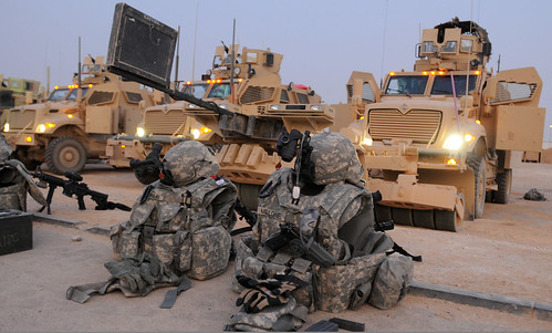 Logistical convoy | by The U.S. Army