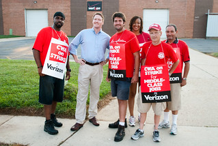 CWA Local 2222 Verizon Strike | by KentonNgo