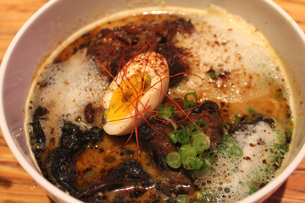 Oxtail Ramen at Breadbar | TreasureLA | Flickr