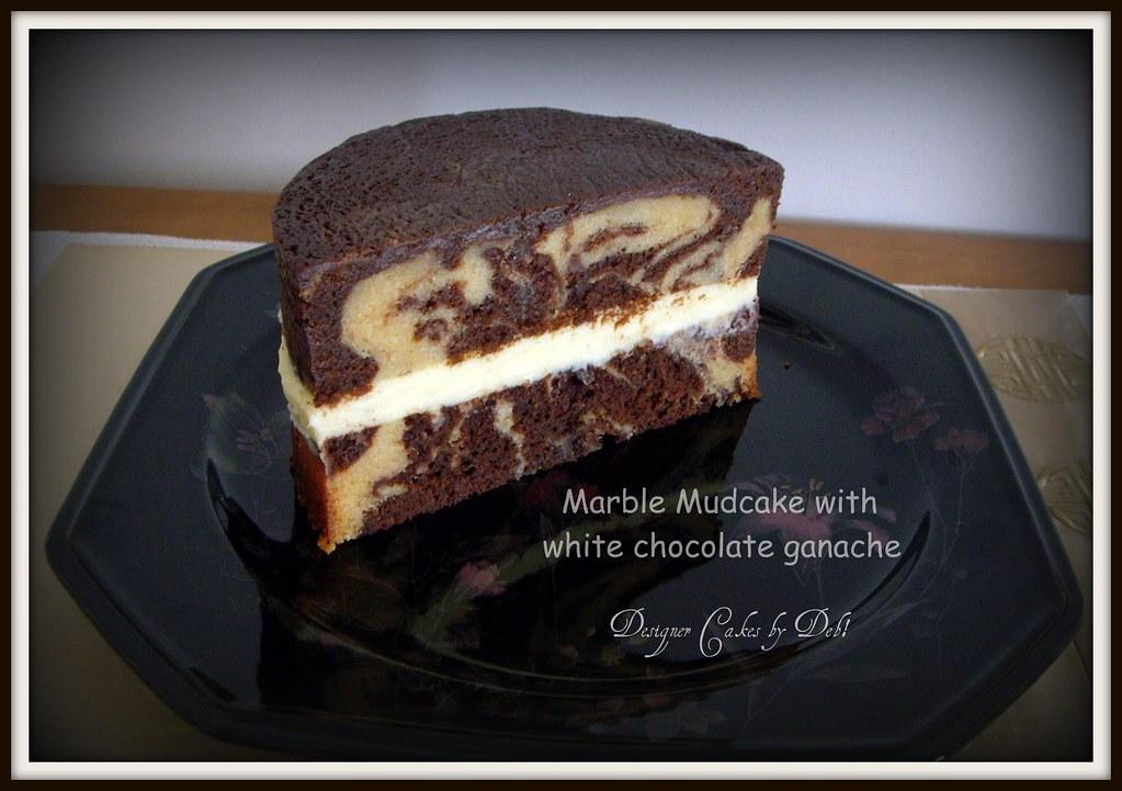 Marble Mud Cake Mmmmmm - white and dark chocolate ...