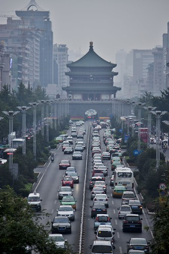 Xi'an Traffic | by Jack Zalium