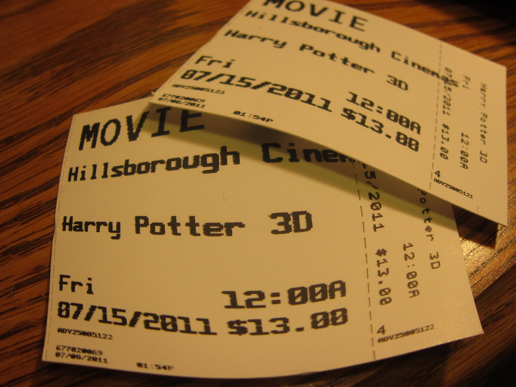 movie tickets midnight showing tickets for harry potter