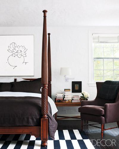 London Bedroom Accessories Elle Decor Bedroom Trendy Bedroom Lighting Master Bedroom Accessories: Elle Decor {eclectic Vintage Modern Black And White Bedroo
