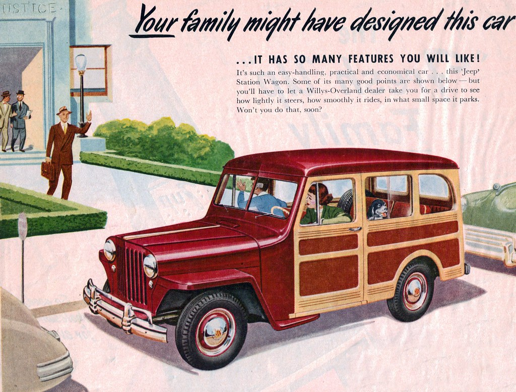1949 Willys Overland Jeep Station Wagon Coconv Flickr