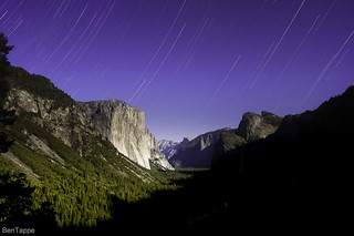 moonlit Valley from Tunnel View | by bentappe