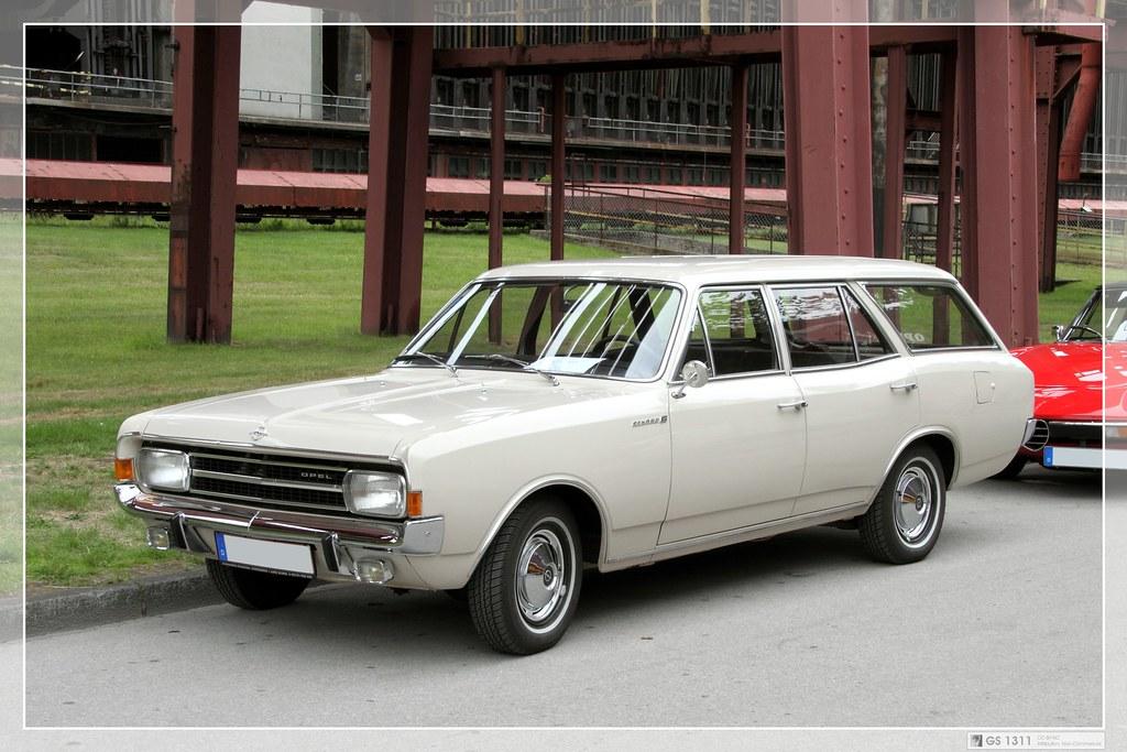 1966 Opel Rekord C 1900s L Caravan F 252 Nft 252 Rig 02 The