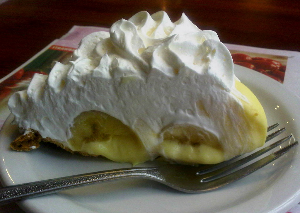 Big cream pie