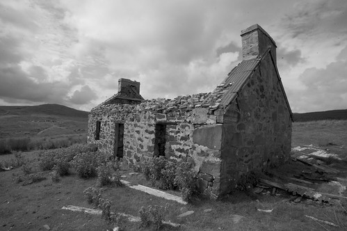Abandoned House - Isle of Mull, Scotland | by feasta1