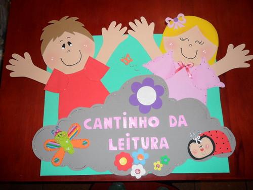 Cantinho da Leitura Para a professora Beth Rosemar Costa Evora ...