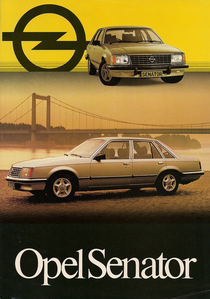 South African Opel This brochure is not dated but I would