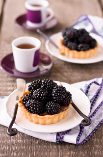 blackberry tarts | by The Little Squirrel