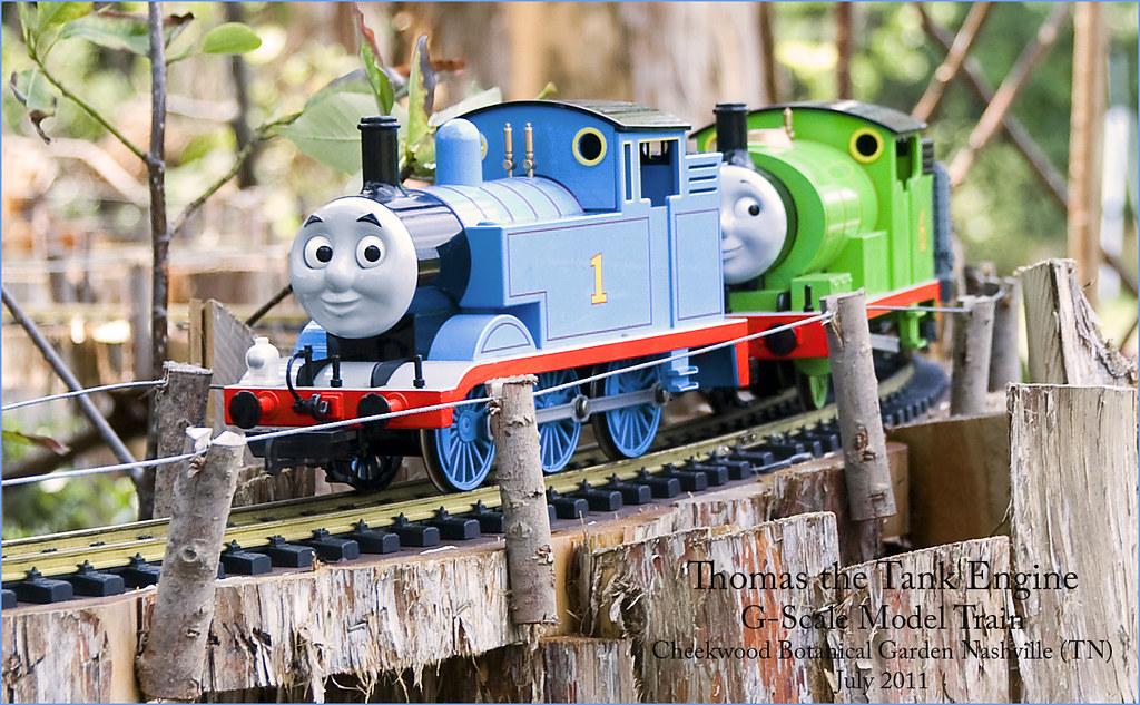 Thomas the Tank Engine -- Cheekwood Botanical Garden Nashv ...